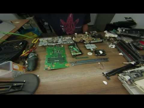 Scrapping A HP Laserjet 6P Printer