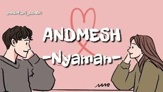Gambar cover DJ ANDMESH - Nyaman (lirik)