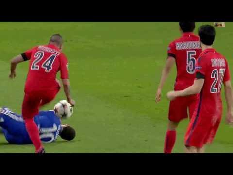 Chelsea  vs PSG 2 2 Highlights UCL Second Leg 2014 - 2015 HD 1080i
