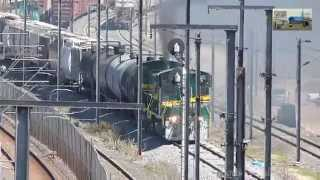 EMD SW1504 FTVM (Ferrovalle) 8833+8831 with a freight Train