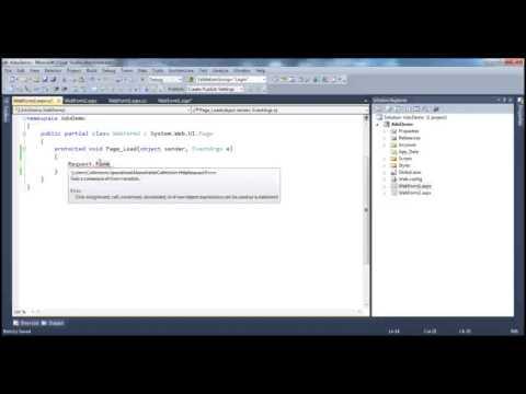 ASP.NET Server Side Programming