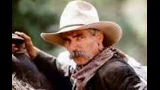 Sam Elliott sounding voice over artist Joe Pike