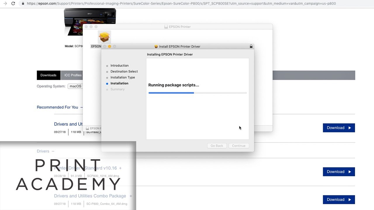 How To Install Printer Drivers On A Mac Tutorial Youtube