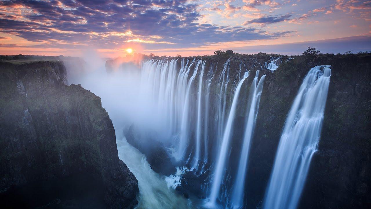 Top Ten Worlds Biggest, Largest Waterfalls - YouTube