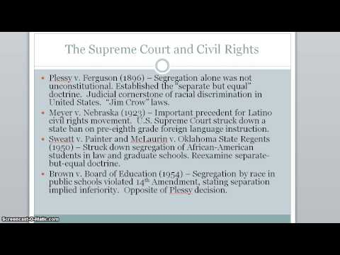 Civil Rights Lecture