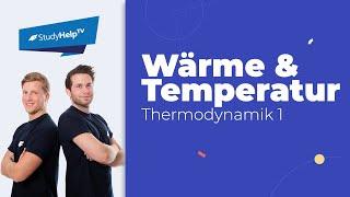 Der Unterschied von Wrme und Temperatur - Thermodynamik