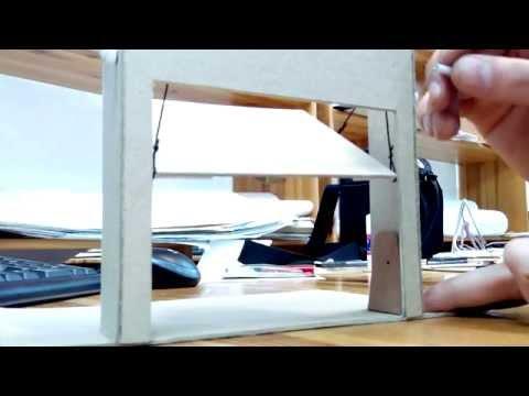 видео: Подъемно поворотные ворота.