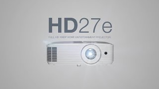HD27e Full HD 1080p projector - Big Screen Entertainment