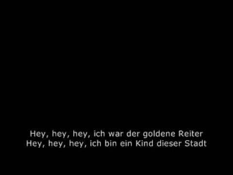 Neue Deutsche Welle: Joachim Witt  - Goldener Reiter (1981) + Lyrics