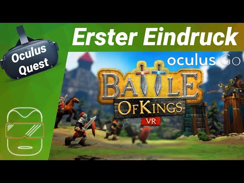 Oculus Quest - Battle of Kings: Mobile VR [deutsch] Erster Eindruck Review Strategie Virtual Reality