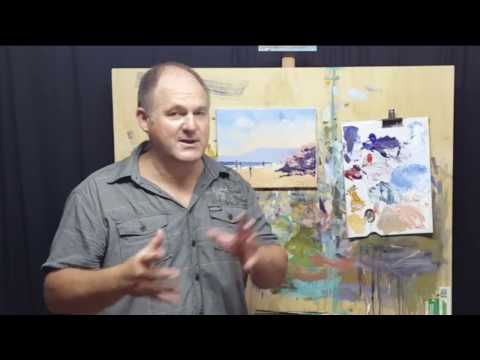 "Learn To Paint – E3 ""Morning Walk Sorrento"" Acrylic Painting for Beginners #MooreMethod"