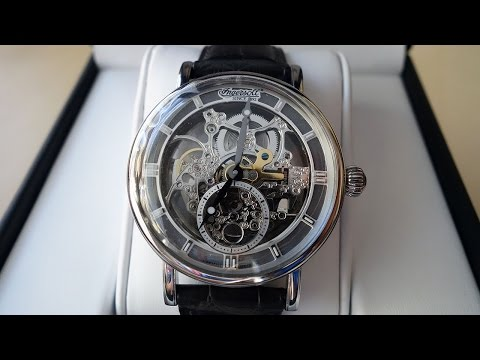 "Ingersoll ""Nez Perce"" Skeleton Dial Automatic Watch Review (IN1918SL) - Perth WAtch #49"