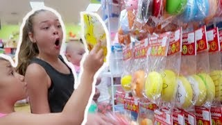 THEY HAVE NEW SQUISHIES!!! SQUiSHY SHOPPING VLOG!! | LEARNING EXPRESS