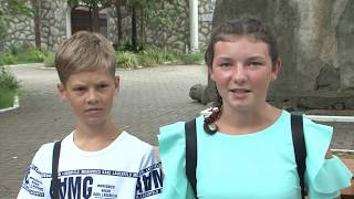 Продолжается отдых детей из ДНР в Абхазии.
