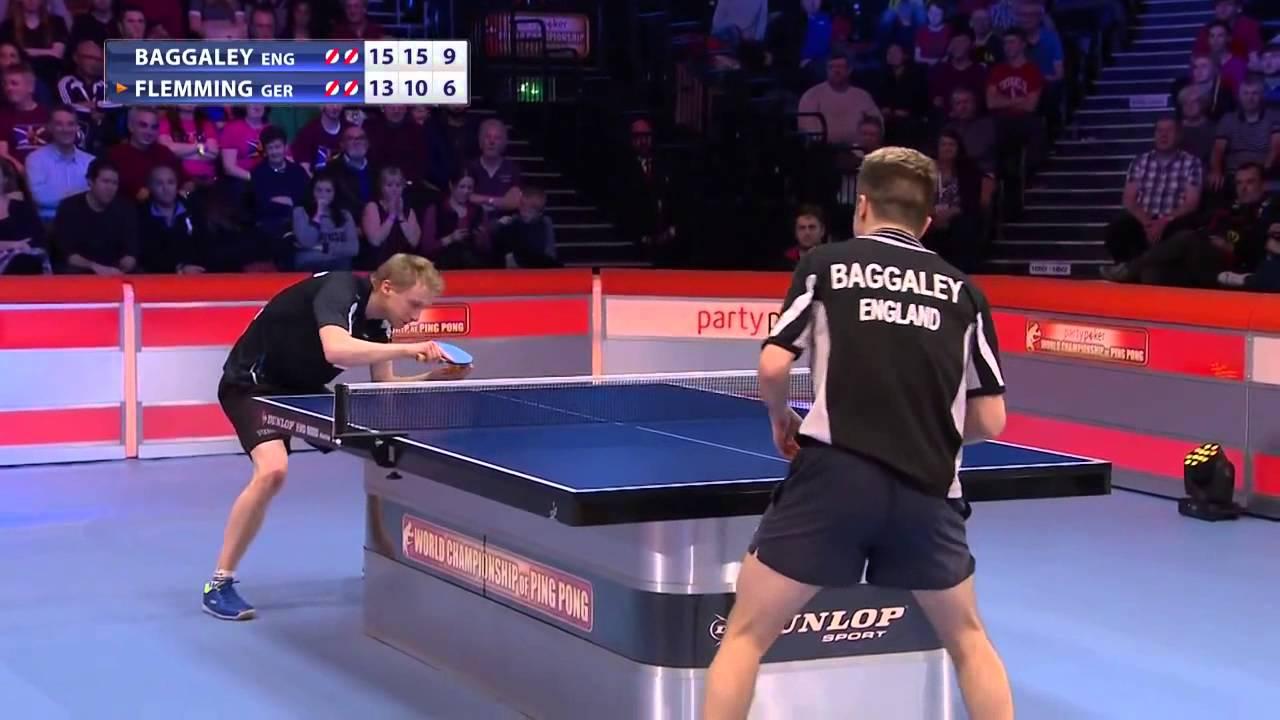 World Championship Of Ping Pong 2015 Final Baggaley Eng