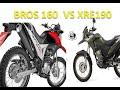 Honda XRE 190 ABS e Bros 160 - Qual é a melhor ?