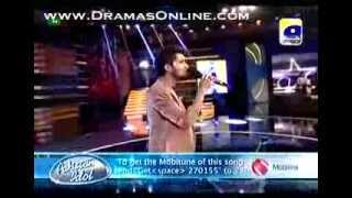 Asad Ali Zaidi in TOP 10 in Fianl Baazi _ PAkistan Idol Episode 25