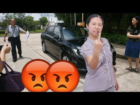 I WAS IN A CAR ACCIDENT... (AGGRESSIVE ASIAN WOMAN)