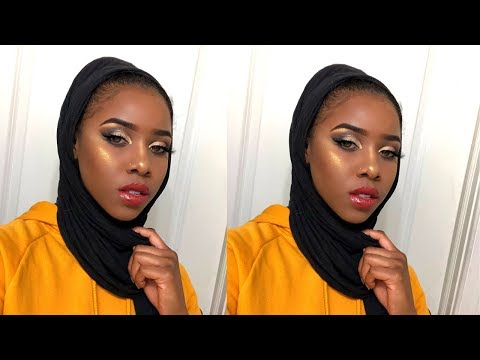 Golden Glam Fall Makeup Tutorial | Beauty By Samia thumbnail