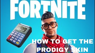 HOW TO GET THE NEW PRODIGY SKIN IN FORTNITE