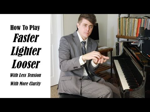 3 Tips To Play Faster, Lighter, and Looser - Josh Wright Piano TV