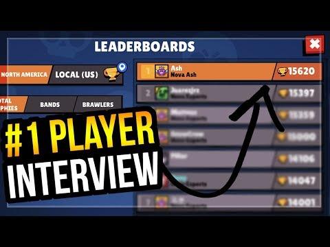 Brawl Stars #1 Player Interview! Top Trophy Pushing Tips & More - Ash Brawl Stars