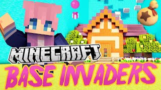 Animal Crossing Base | Minecraft Base Invaders Challenge