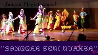 """Tari Tradisional Kalimantan Selatan """"Tari Manginang"""". Sanggar Seni Nuansa Kota Banjarmasin."""