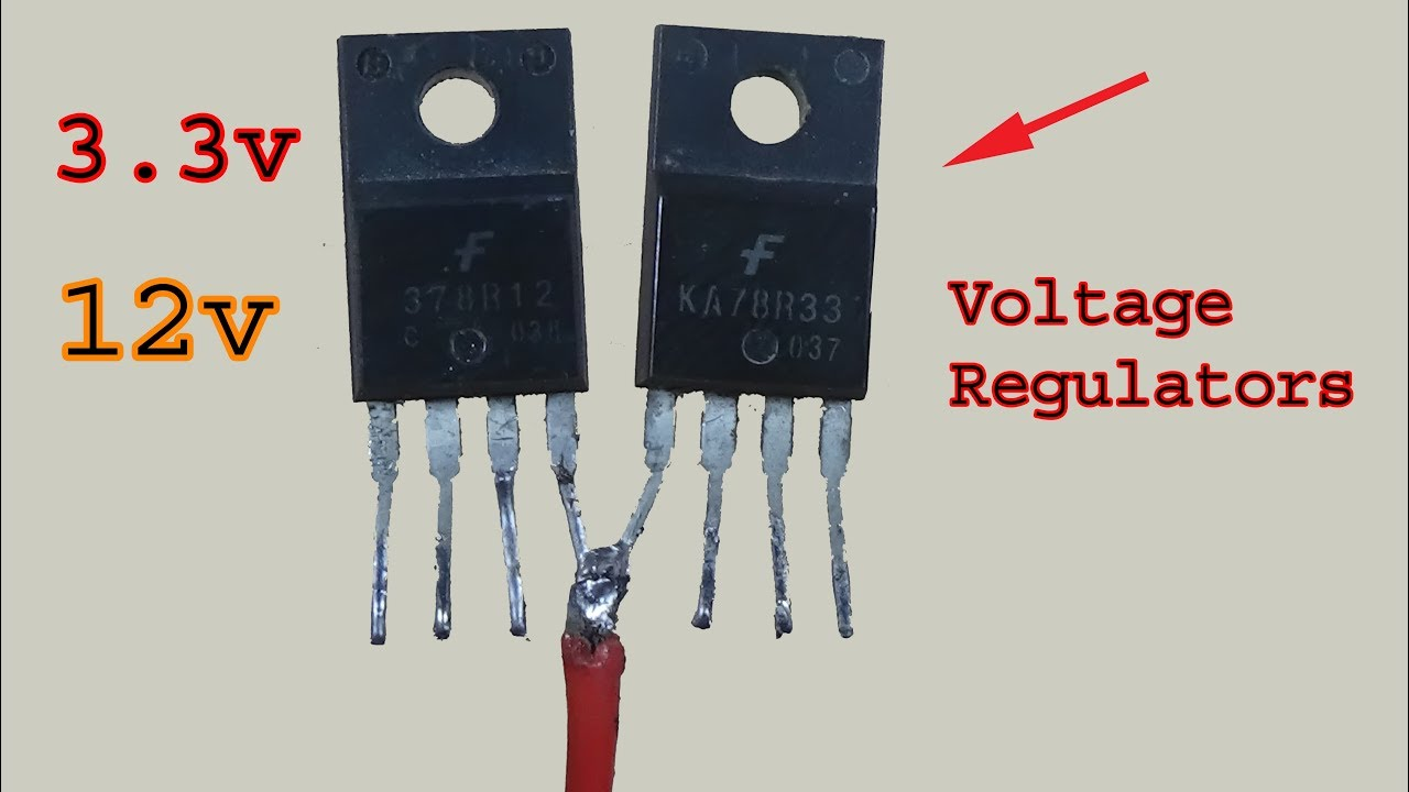 2 Awesome Diy Electronics Projects Step Down Voltage Regulators