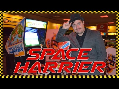 The Reason Why You Need To Play Space Harrier Arcade! - Top Hat Gaming Man