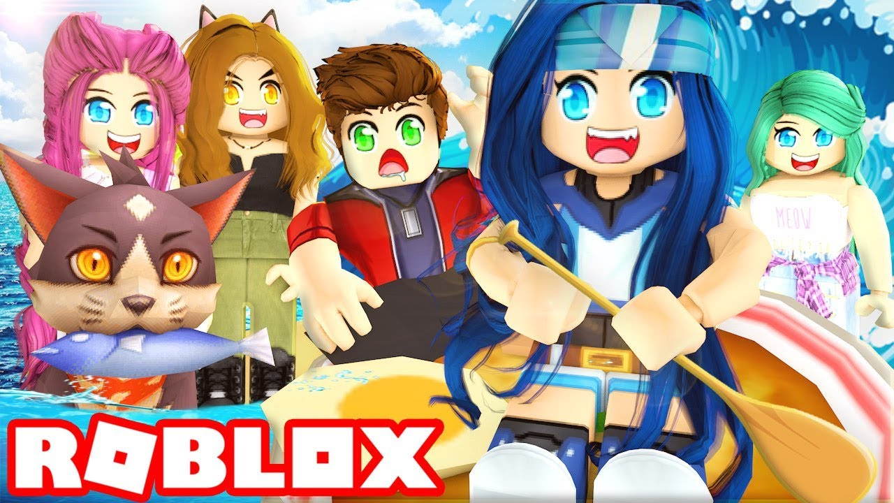 THE EPIC BOAT RACE...WHO WILL MAKE IT TO THE END OF ROBLOX BUILD A BOAT FOR TREASURE!