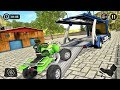 Car Transporter Cargo Truck Driving 2018 (by Tech 3D Games Studios) Android Gameplay [HD]