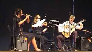 Joseph Kreutzer - Trio no.3 for guitar, flute and violin
