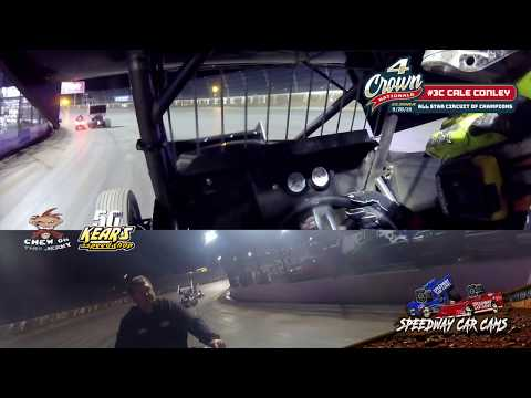 #3C Cale Conley - All Star Circuit of Champions - Eldora Speedway 9-28-19 - In-Car Camera GoPro