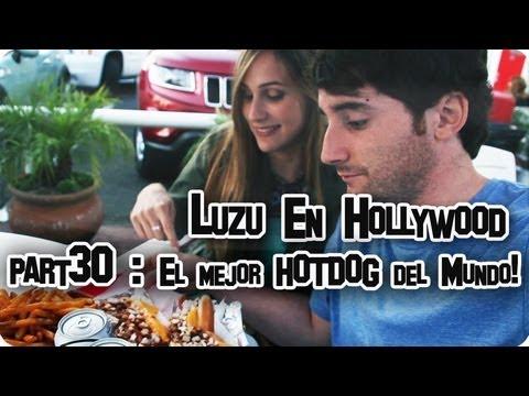 LUZU EN HOLLYWOOD 30: El mejor HOTDOG del Mundo! - LuzuVlogs - 동영상