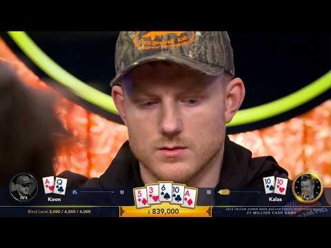 One of the biggest pots in TV poker  Koon vs Kalas at Triton Million Euro Cash Game