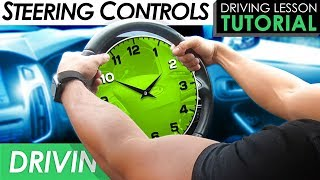 How To Steer a Cąr Properly   Driving Tutorial