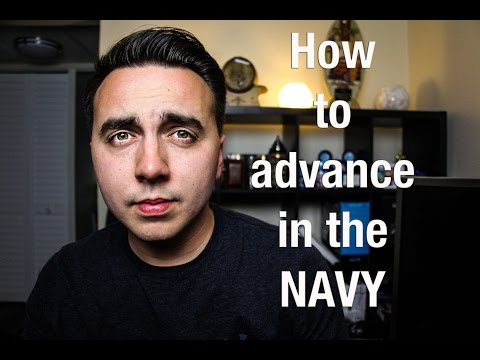 How To ADVANCE Rank In The Navy?!