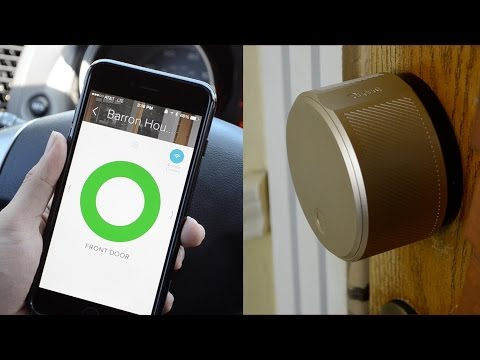 August Smart Lock & Connect Review | Lock and Unlock Your Front Door Using A Smartphone