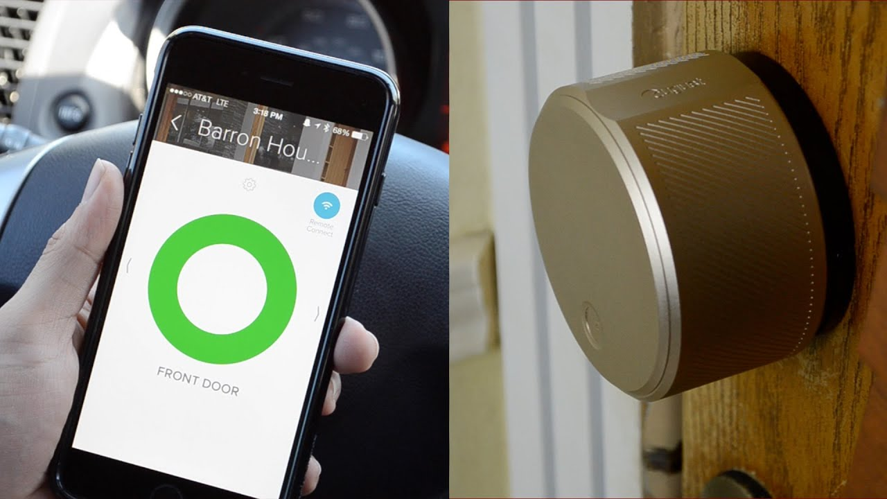 August Smart Lock Connect Review Lock And Unlock Your Front Door