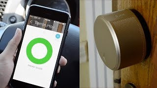 August Smart Lock & Connect Review   Lock and Unlock Your Front Door Using A Smartphone