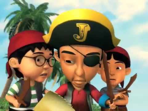 Upin & Ipin Dan Kawan - kawan (Episod 14: Kembara Ke Pulau ...