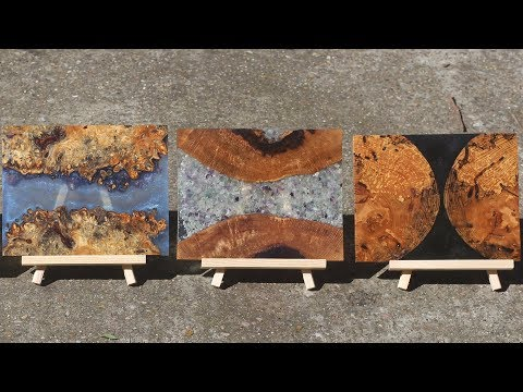 How To Make Resin, Burl, and Stone Cheese/Charcuterie Boards