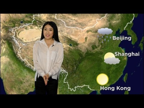 Telling the weather in Chinese