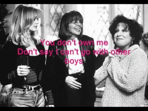 You don't own me - Karaoke
