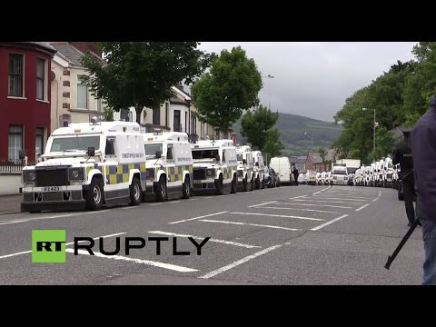 LIVE: Unionist parades take over Belfast in Twelfth of July festivities