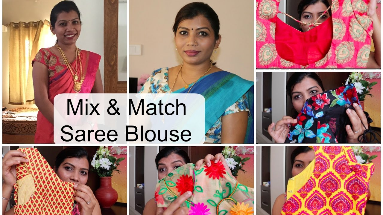 mix and match saree blouses just filter coffee youtube
