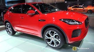 2018 Jaguar E-Pace - Exterior Walkaround - 2017 Frankfurt Auto Show