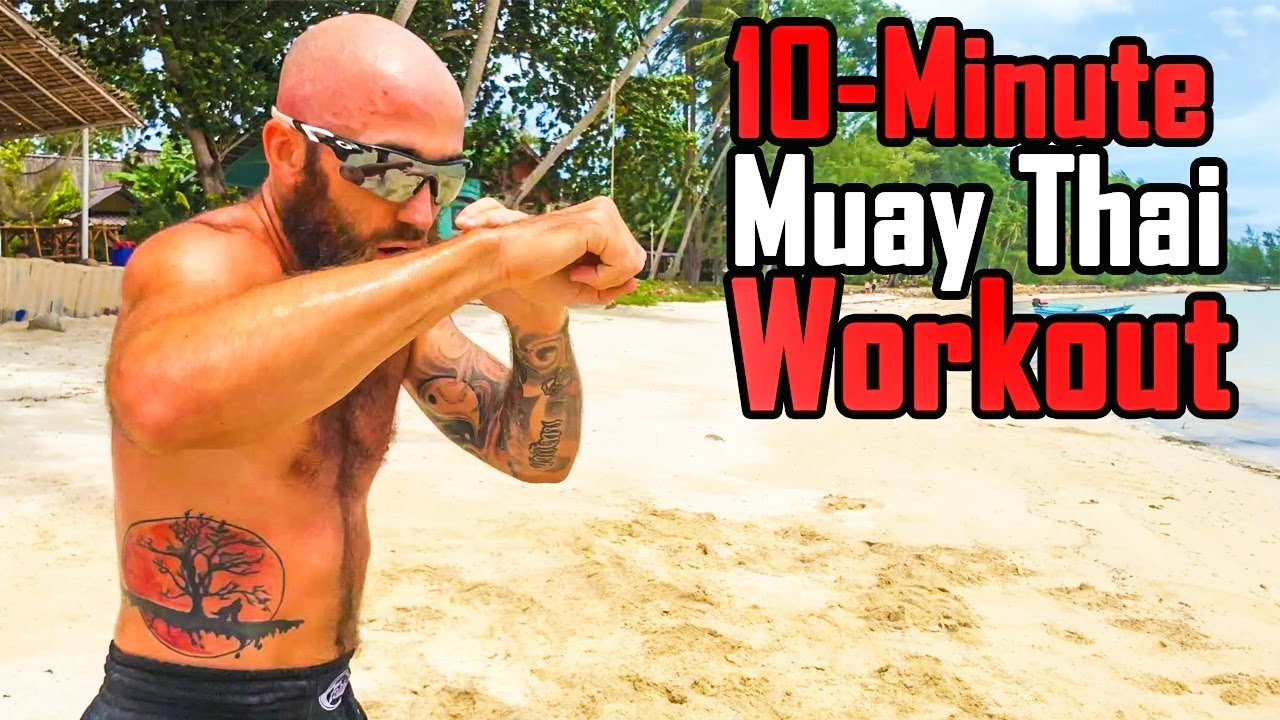 Muay Thai Shadowboxing Workout | Sean Fagan with Fight Light