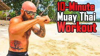 Muay Thai Shadowboxing Workout  Sean Fagan with Fight Light